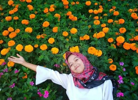 Pesona Wisata Kutawaba Flower Garden Serang Purbalingga