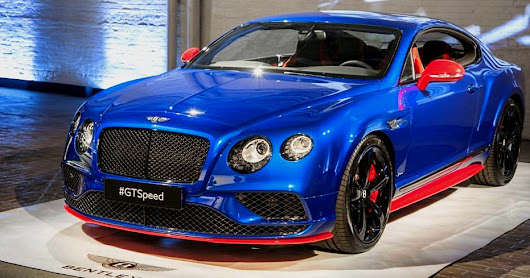 Bentley GT Speed and Speed Black 2017 Edition launched