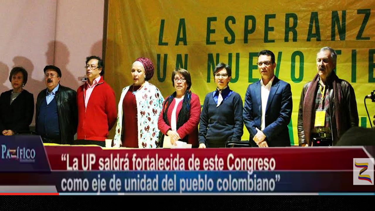 """""""La UP saldrá fortalecida de este Congreso como eje de unidad del pueblo colombiano"""": G. Pareja"""