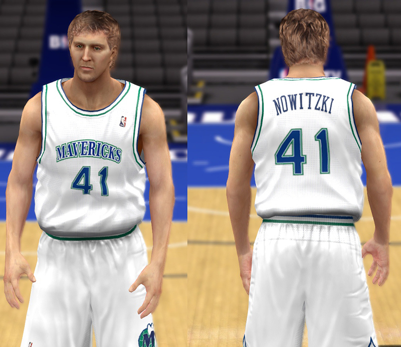 more photos d71e3 51e10 NBA 2K14 Complete Dallas Mavericks Jersey Patch - NBA2K.ORG