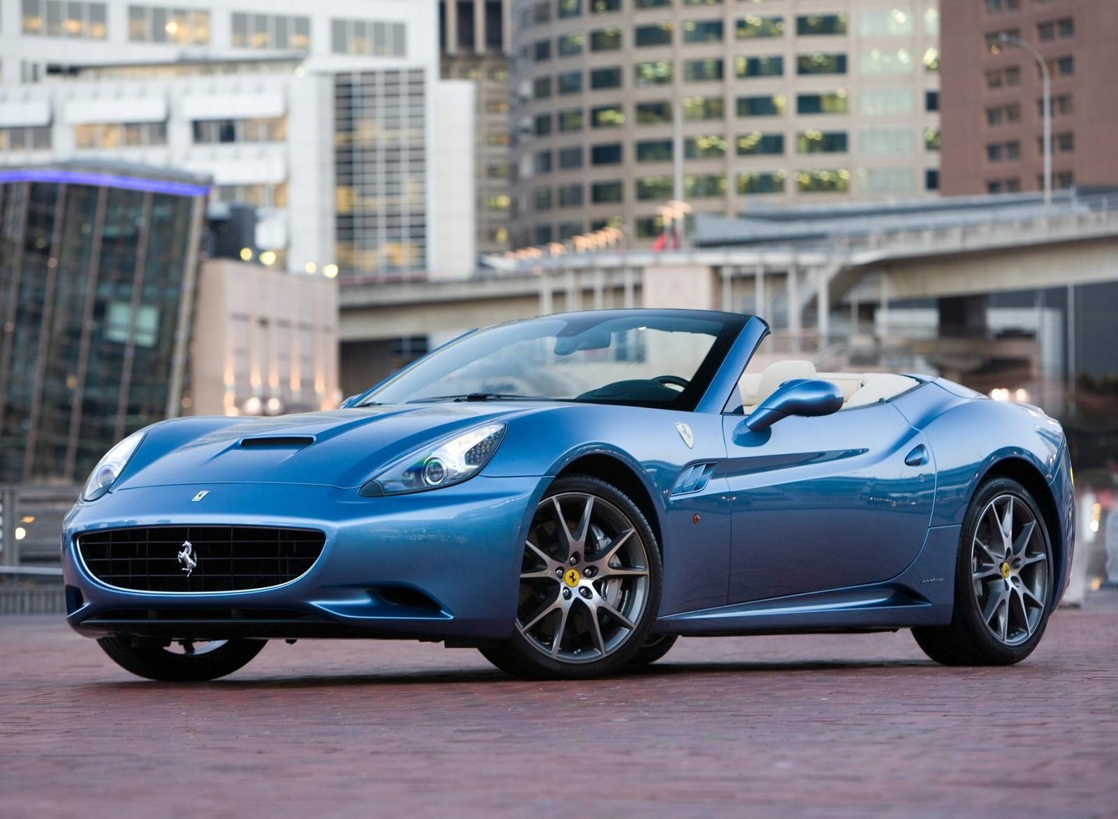 Ferrari california bleu 2017 - Fonds d'écran HD