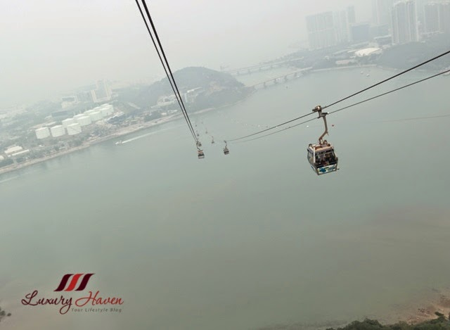 lantau island ngong ping cable car review