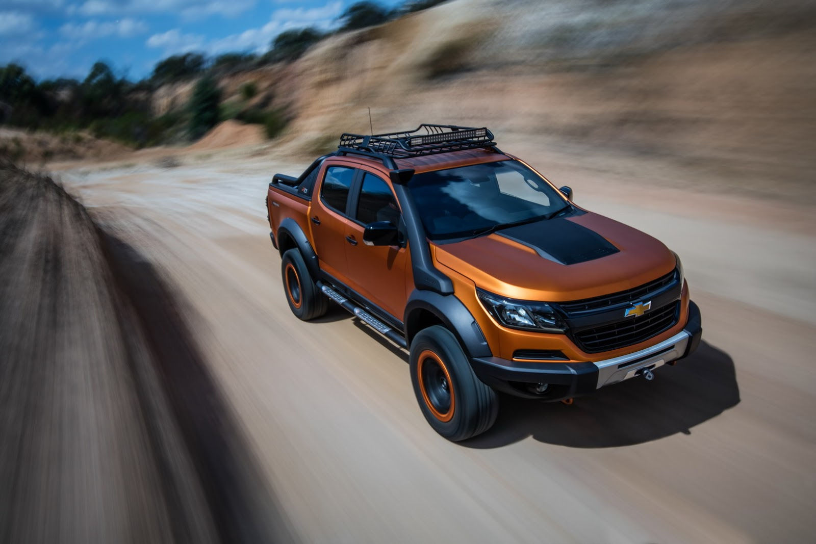 Chevy Colorado Xtreme >> Chevrolet Colorado Xtreme Study Previews The Global Model's Facelift - carscoops.com
