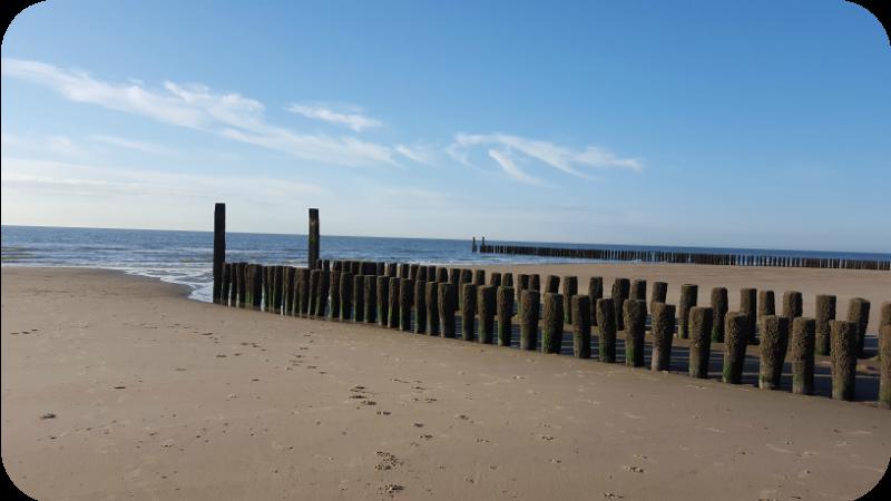 Ebbe am Strand von Domburg, Provinz Zeeland, Holland (Niederlande) | Arthurs Tochter Kocht von Astrid Paul