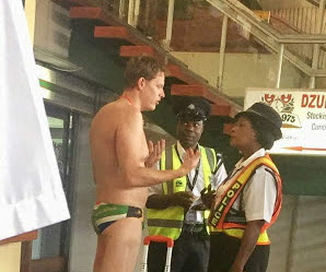 south african man naked airport malawi