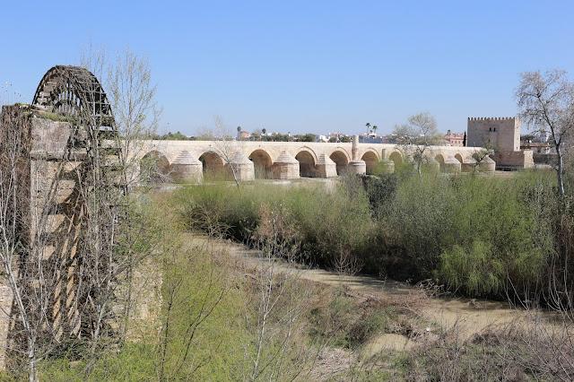 Recreación del puente romano de Córdoba y la vía Augusta