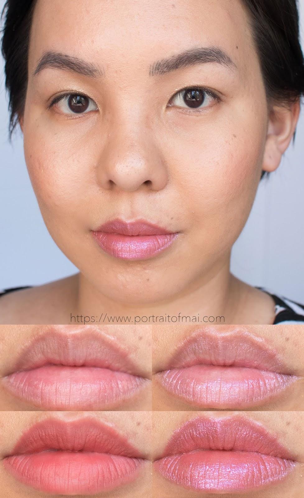 Darling Girl Glitter Potion Lip Topper in Charmed Lip swatch