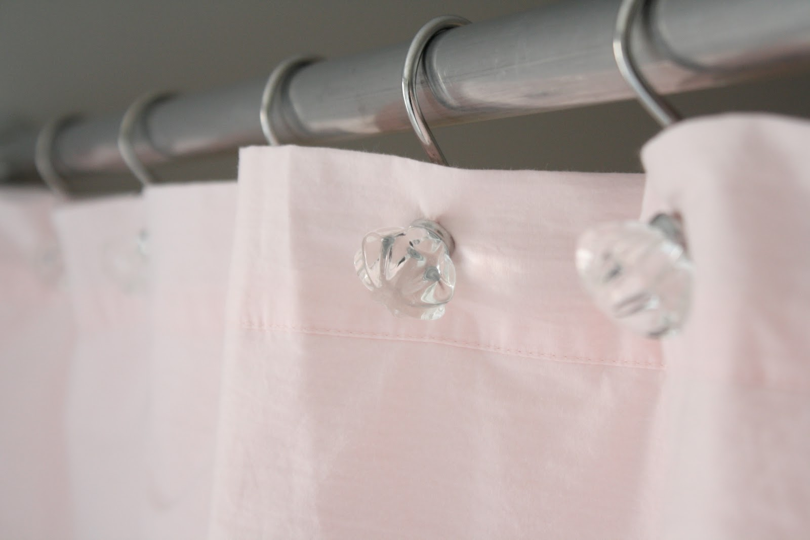 Shabby chic bathroom towel hooks for Shabby chic rhinestone shower hooks