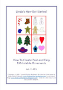 How To Create Fast and Easy E-Printable Ornaments Free E-Book