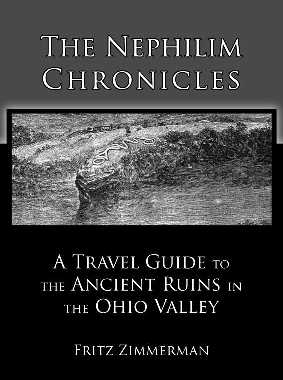 Mound Builders A Travel Guide to the Ancient Ruins in the Ohio – Indiana Travel Map