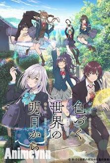 Irozuku Sekai no Ashita kara -  2018 Poster