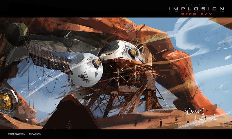 台灣首例!手遊「Implosion」改編成動畫電影,雷亞遊戲12月初上Kickstarter募資