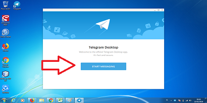 tutorial domnload telegram