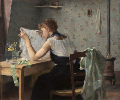 The Attic Chamber (1889), Maria Wiik