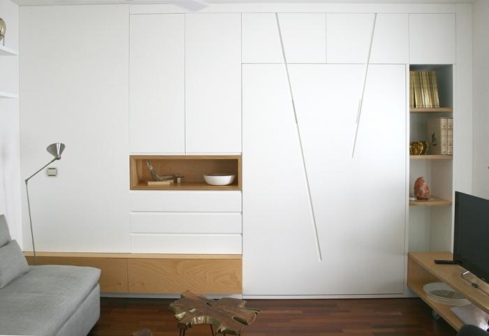 Espacios en madera for Muebles transformables