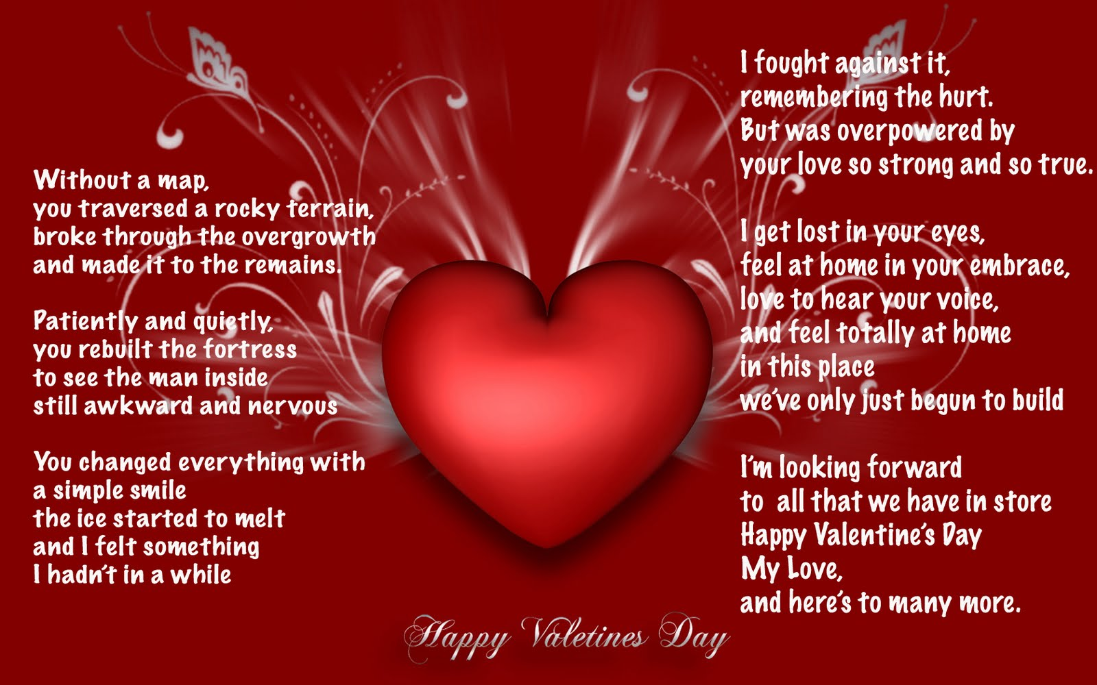 Valentines Day Quote For Wife: Happy Valentines To My Wife Quotes. QuotesGram