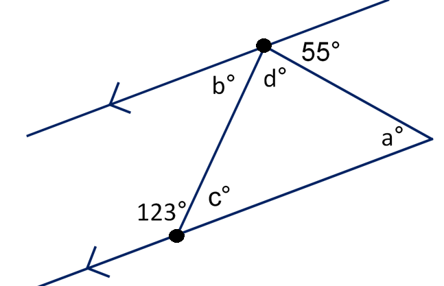 Line Art With Lines And Angles : Educating mrmattock angles on straight lines tackling