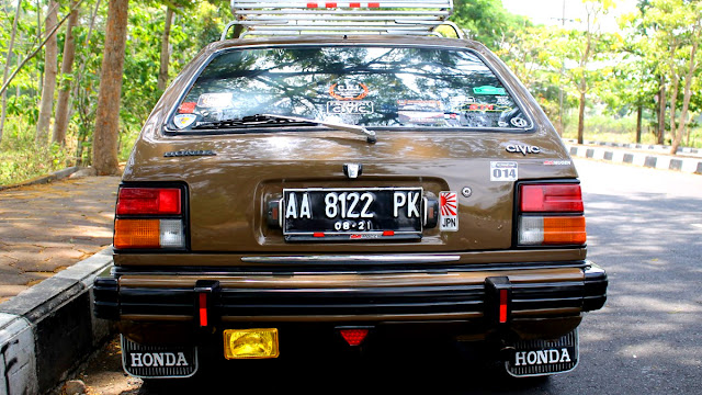 Modifikasi Honda Civic Excellent 1981