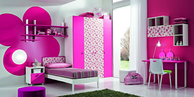 Kumpulan Desain Warna Cat Kamar Tidur Anak Perempuan Terbaru