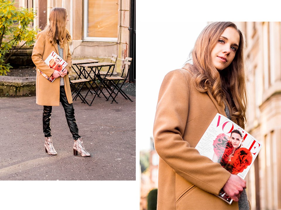 Fashion blogger autumn outfit inspiration + Vogue December 2019 - Muotiblogaaja, syysmuoti, inspiraatio, Vogue joulukuu 2019