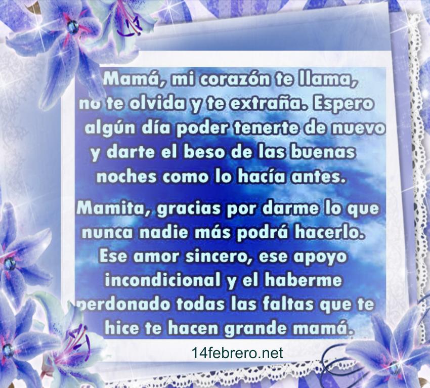 Frases Para Madres Fallecidas Dia De La Madre Frases Amor