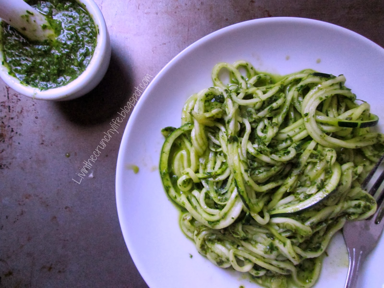 Carrot Top Pesto (nut-free) with Roasted Carrots | Livin' the Crunchy ...
