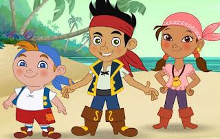 Juegos de Jake, Izzy y Cubby