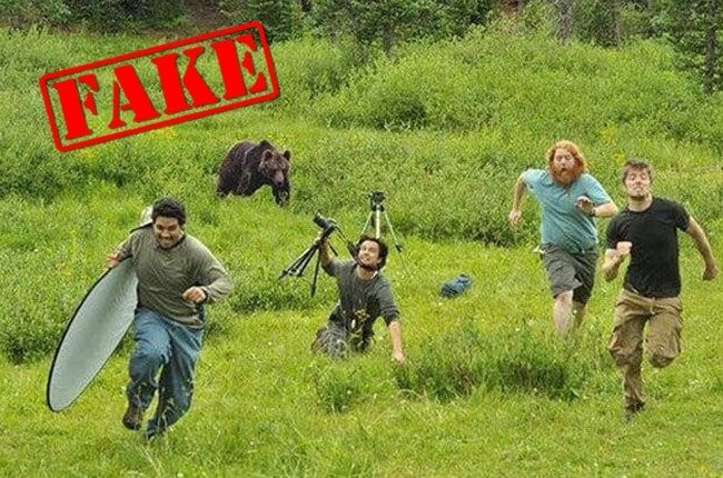 10 Photos That Became Viral But Are Actually Edited - Wild Life Photography Gone Wrong