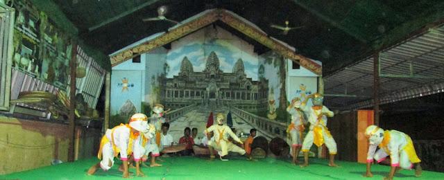 Bailes tradicionales camboyanos