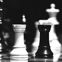 Dos torres de ajedrez