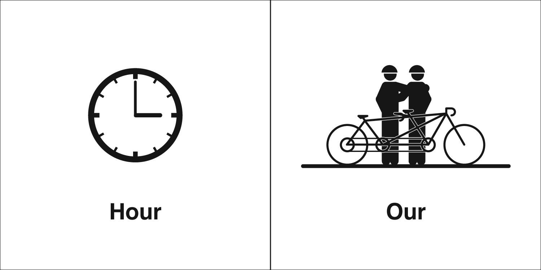 Homophones, Weakly: Hour & Our