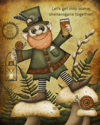 St. Patrick's Day Shenanigans wall decor - Robin Davis Studio