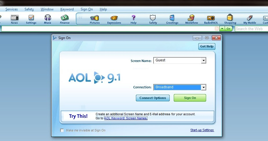 aol software download 9.1