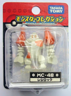 Regirock figure Takara Tomy Monster Collection MC series