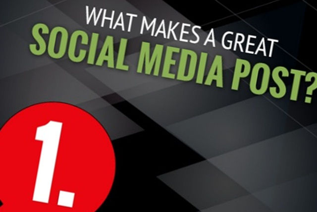 How To Create the Perfect Social Media Post - #infographic #marketing