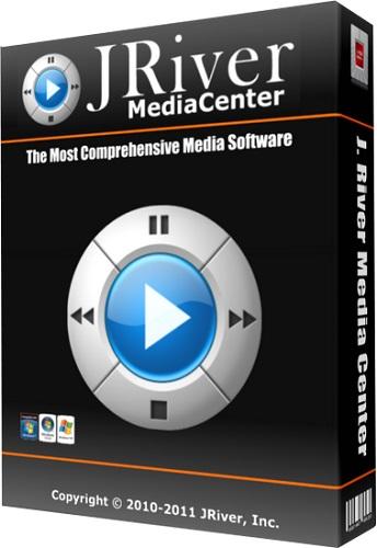 JRiver Media Center 22.0.108 poster box cover