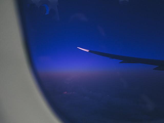 日本航空 JL774 機内からの眺め
