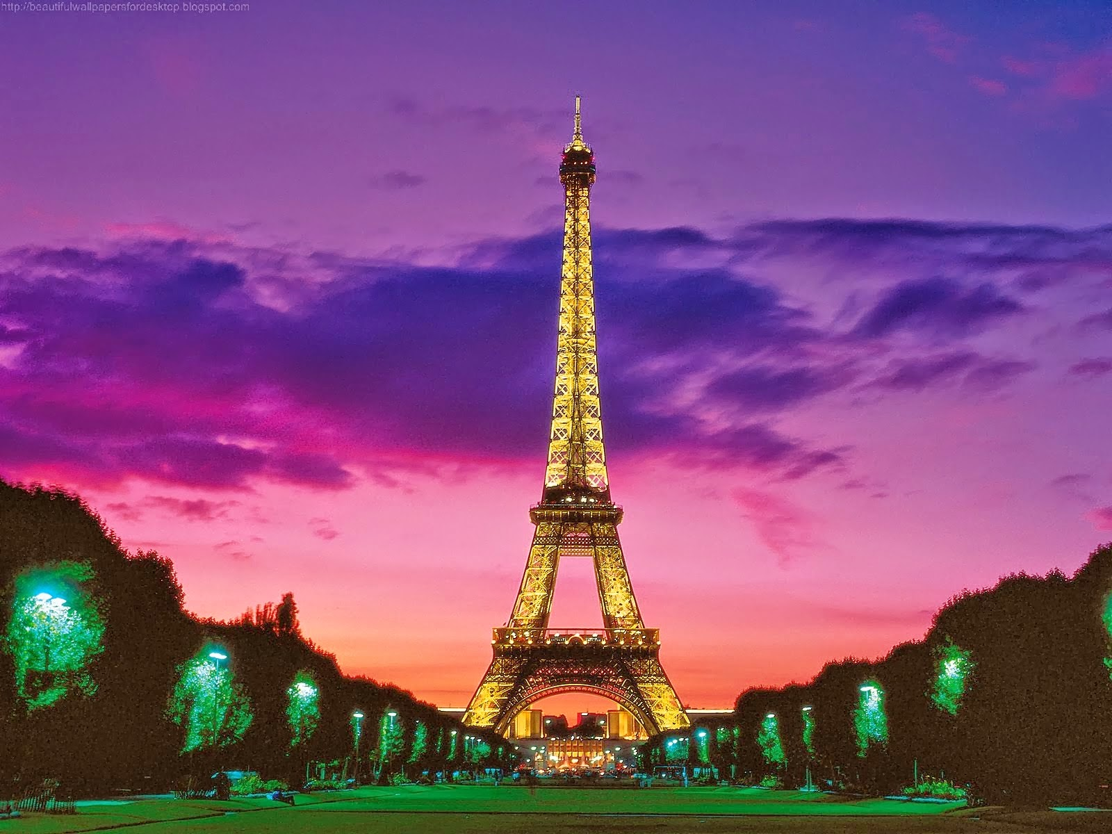 Beautiful Wallpapers: Eiffel Tower Wallpaper For Walls