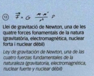 Ley de Gravitacion Universal de Newton