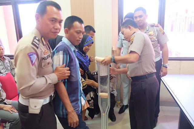 Polres OKU Kampanyekan Keselamatan Lalu Lintas