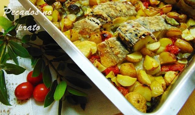Receita fácil de bacalhau no forno