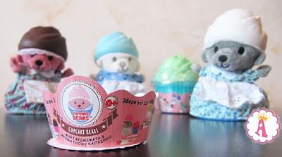 Обзор мягких мишек в кексах Cupcake Bears