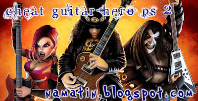 Cheat Guitar hero ps 2