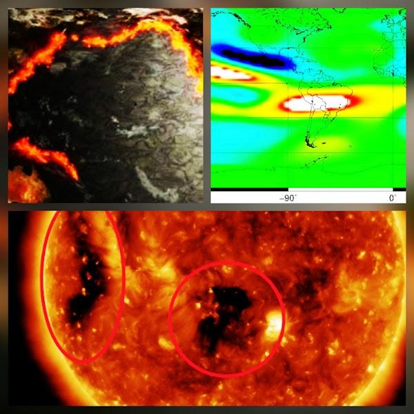 ALERTAS: Anonalia Extrema + Viento Solar , Pueden Provocar Fuertes Sismos.