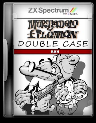 Mortadelo y Filemon Double Case