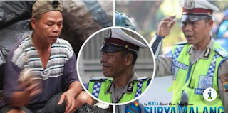 Polisi Seladi Polisi Menjadi Tukang Sampah Tukang Rosok Malang