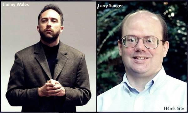 Wikipedia-Creators-Jimmy-Wales-And-Larry-Sanger