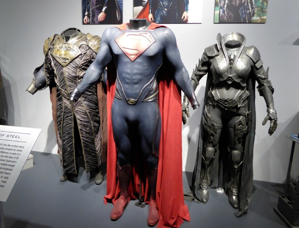 Man of Steel movie costume exhibit