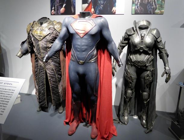 Man of Steel movie costume exhibit