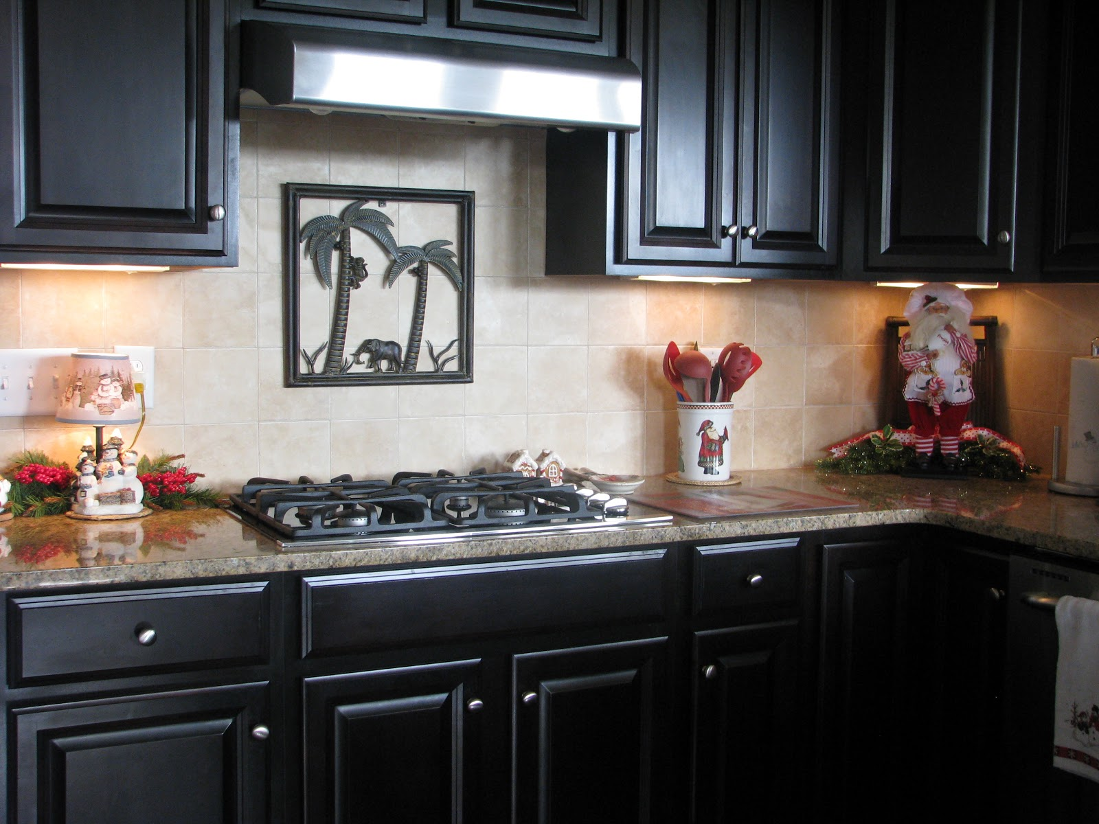 Vignette Design A Kitchen Tour: Designs By Pinky: ~~~My Christmas Kitchen!!!~~~